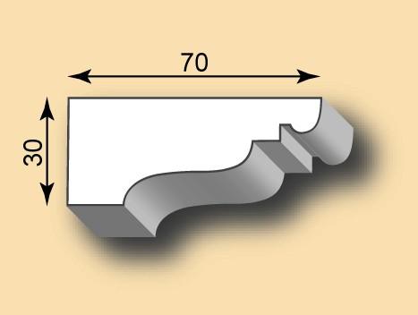 Stuckleiste / Stuckprofil SL30-33