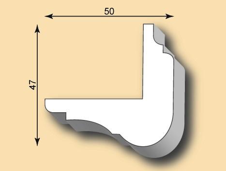 Kantenprofil KP50-04