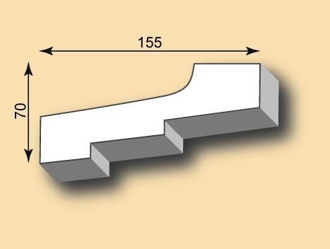 Stuckgesims SG155-01