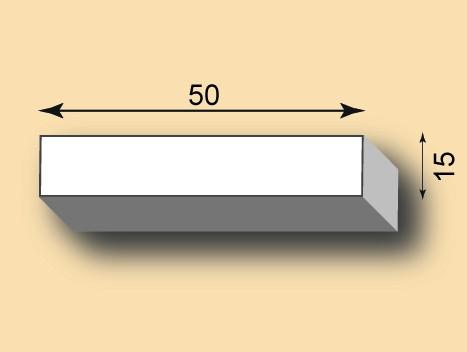 Stuckleiste / Stuckprofil SL50-48