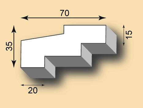 Stuckgesims SG70-03
