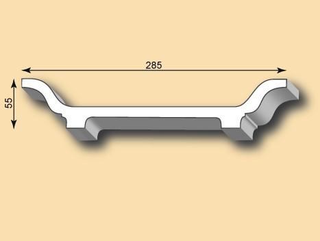 Stuckleiste / Stuckprofil SL285-01