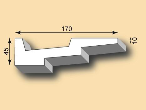 Stuckgesims SG170-01