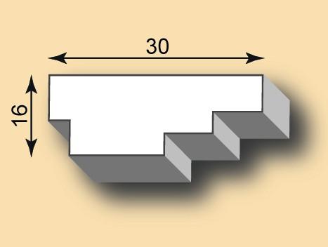 Stuckleiste / Stuckprofil SL30-19