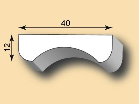 Stuckleiste / Stuckprofil SL40-24