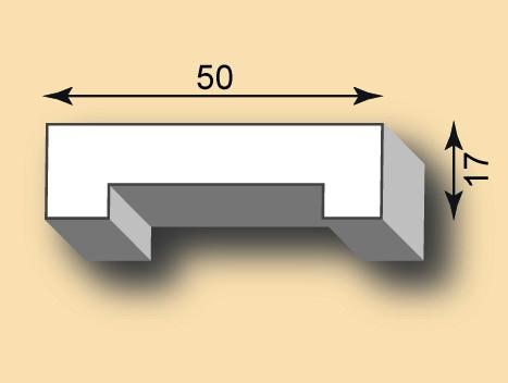 Stuckleiste / Stuckprofil SL50-34