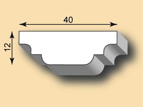 Stuckleiste / Stuckprofil SL40-43