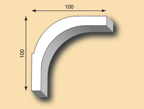 Muster Stuckgesims SG100-19