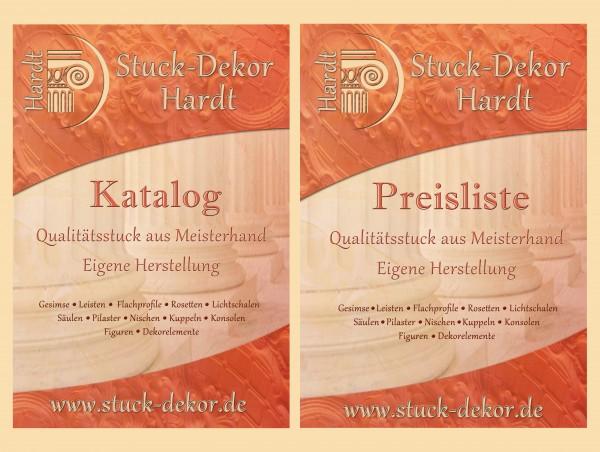 Stuck-Katalog / Preisliste Stuck