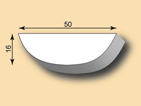 Stuckleiste / Stuckprofil SL50-24