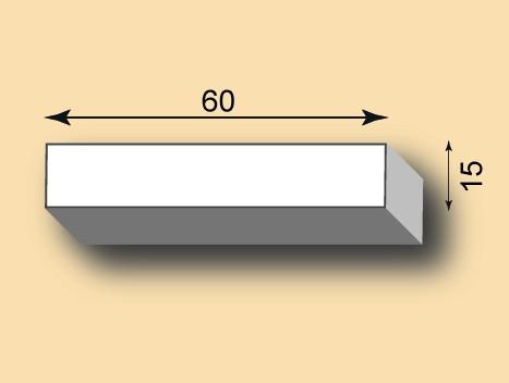 Stuckleiste / Stuckprofil SL60-20