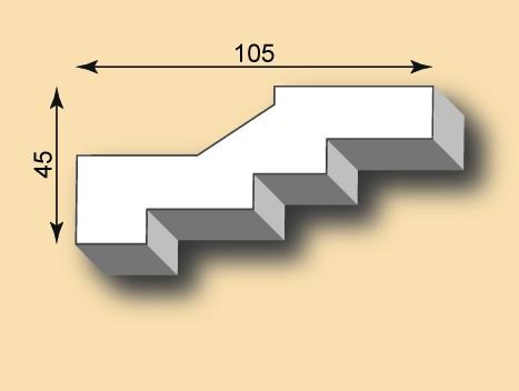 Stuckgesims SG105-08