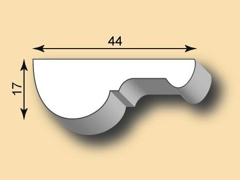 Stuckleiste / Stuckprofil SL44-01
