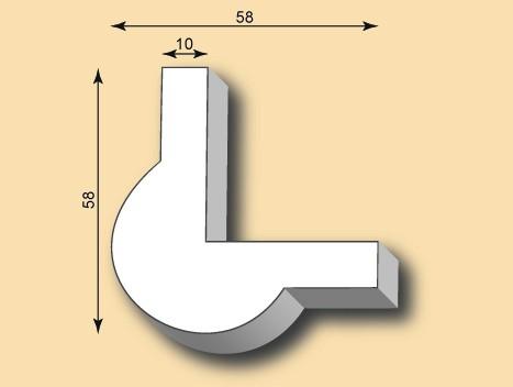 Kantenprofil KP55-01
