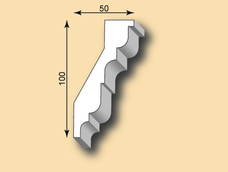 Stuckgesims SG50-09