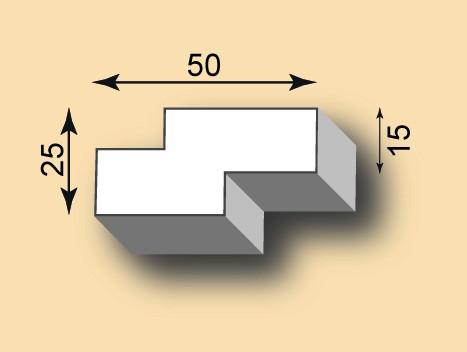 Stuckgesims SG50-12