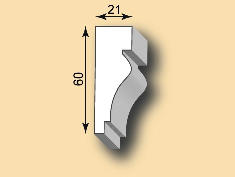 Muster Stuckgesims SG21-01