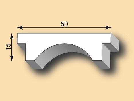 Stuckleiste / Stuckprofil SL50-31