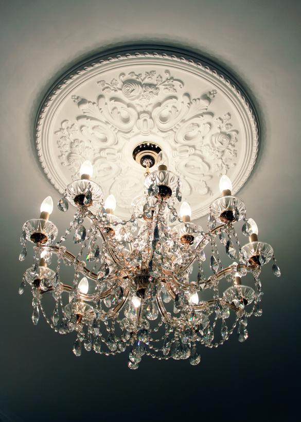 Stuck Rosette Für Lampen eleganter wohnen mit stuckrosetten | stuck-shop