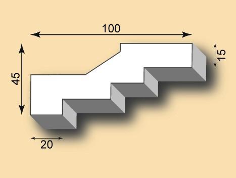 Stuckgesims SG100-11