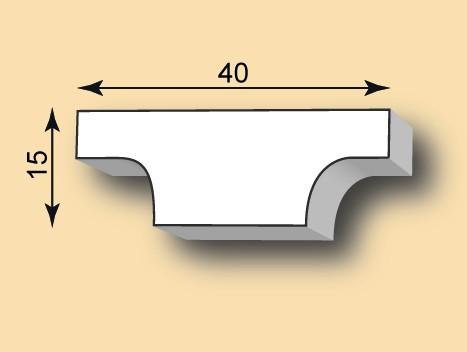 Stuckleiste / Stuckprofil SL40-42