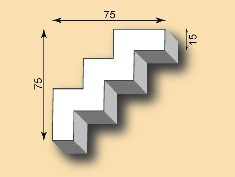 Stuckgesims SG75-11
