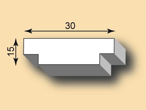 Stuckleiste / Stuckprofil SL30-20