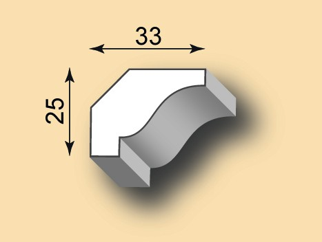 Stuckgesims SG33-01