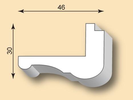 Kantenprofil KP46-02