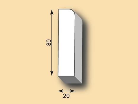 Sockelleiste SO80-01