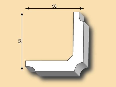 Muster Kantenprofil KP50-03