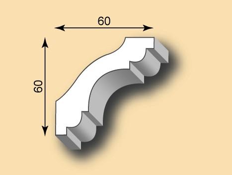 Stuckgesims SG60-08