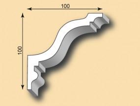 Muster Stuckgesims SG100-01