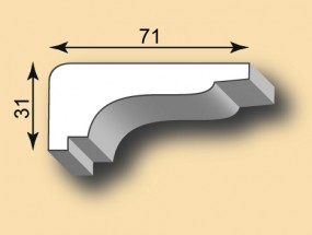 Stuckgesims SG71-01