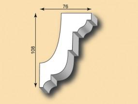 Muster Stuckgesims SG76-01
