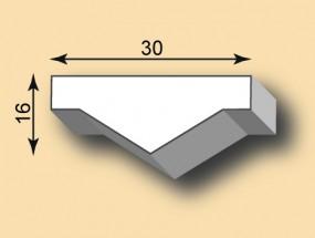Stuckleiste / Stuckprofil SL30-25