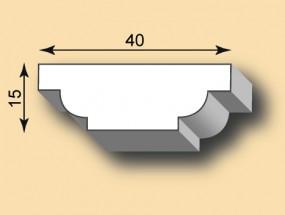 Stuckleiste / Stuckprofil SL40-39