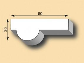 Stuckleiste / Stuckprofil SL50-01