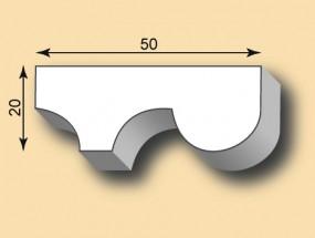 Stuckleiste / Stuckprofil SL50-15