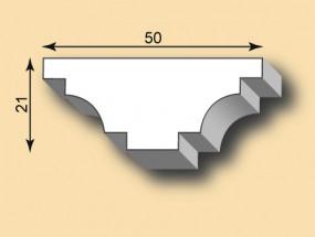 Stuckleiste / Stuckprofil SL50-29