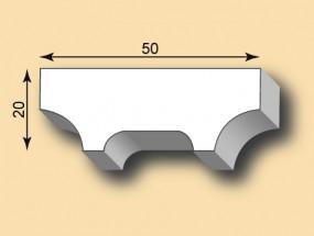 Stuckleiste / Stuckprofil SL50-30